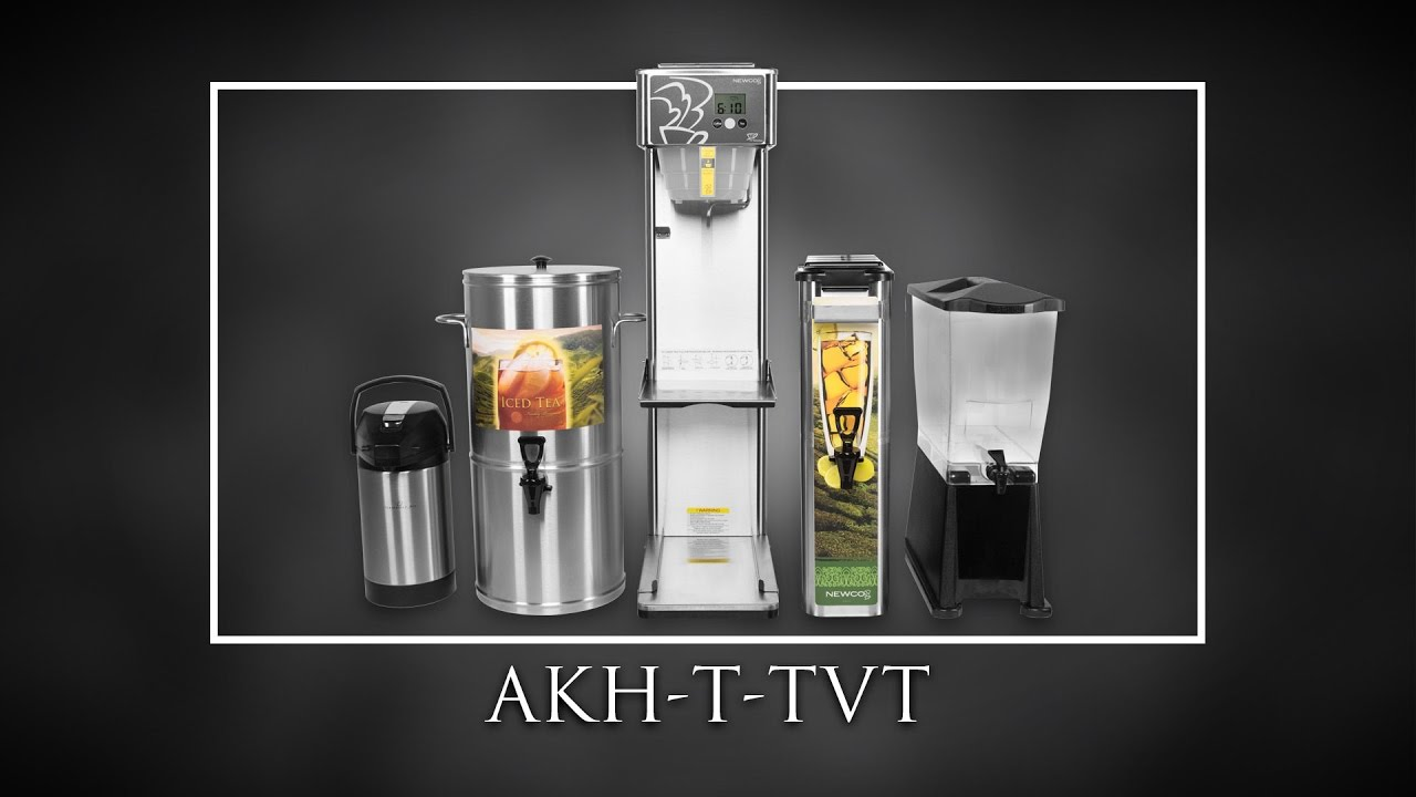 AKH-T-TVT Tea and Coffee Brewer Trailer - YouTube