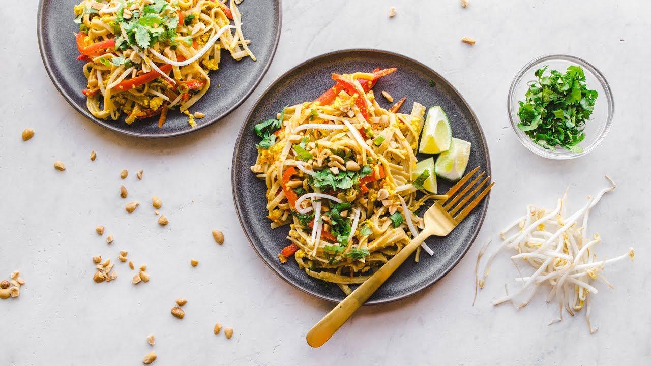 Vegan Pad Thai in only 30 MINUTES!