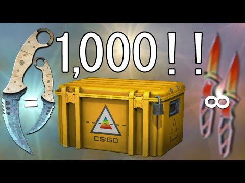 I Opened 1000 Csgo Prisma Cases And You'll Never Believe This Happened.