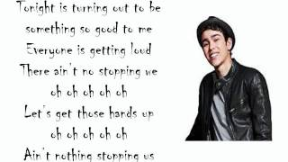 Rags Cast (feat. Max Schneider) - Hands Up (Lyrics)