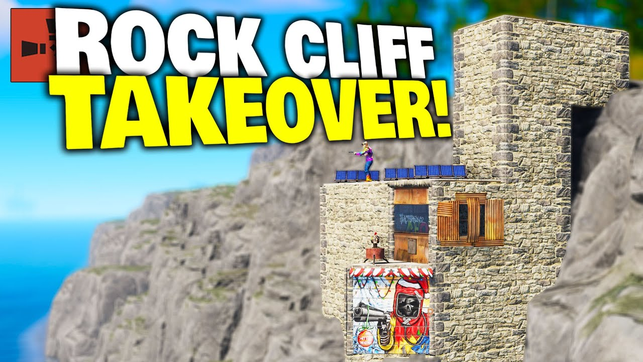 I Lived on a Giant Rock Cliff as a Solo for a Week - Rust