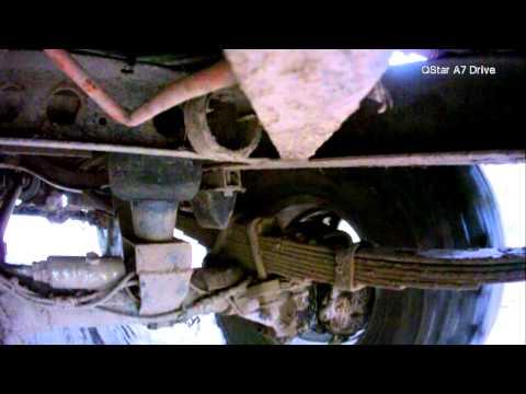 УАЗ на пневме - видеообзор работы подвески на разных давлениях