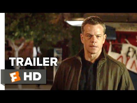 Jason Bourne TRAILER 1 (2016) -  Alicia Vikander, Matt Damon Action Movie HD