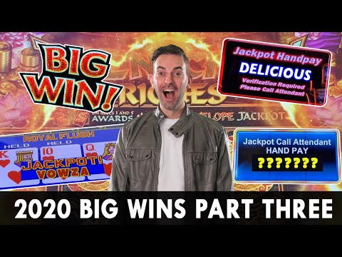 🎰 BIG WINS Of 2020 Part 3 🤑 HGH LIMIT Jackpots Galore! 💵 HANDPAYS On Cleo, Dragon Link & More 💰