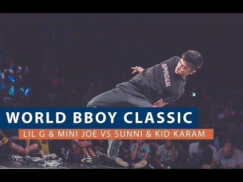 Lil G & Mini Joe vs Sunni & Kid Karam | QUARTER FINAL | WORLD BBOY CLASSIC 2018