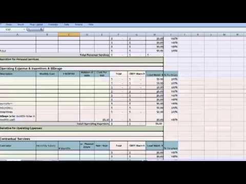 Grant Writing - Budget