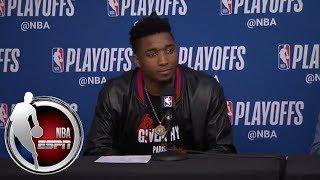 Donovan Mitchell says Utah Jazz fans are 'relentless' | NBA on ESPN