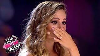 TOP 10 MOST Inspirational GOLDEN BUZZER'S On Got Talent!