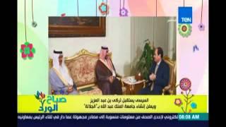 الرئيس السيسي يستقبل تركي بن عبد العزيز ويعلن إنشاء جامعة الملك عبد الله