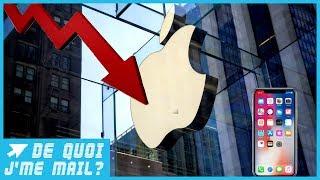 Pourquoi Apple ne vend-il pas autant d'iPhone que prévu ? DQJMM (1/2)