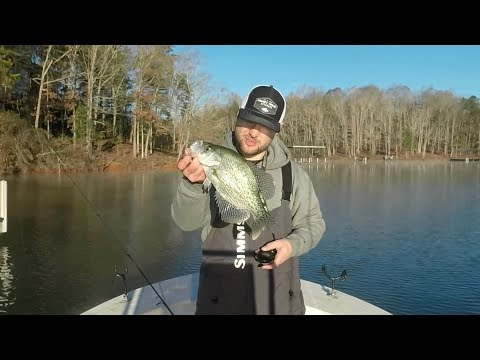 Winter Time Crappie
