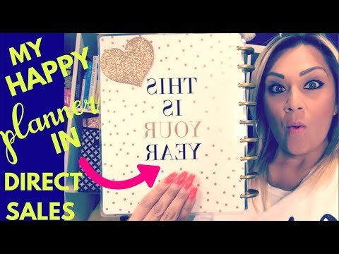 How I Customize My Happy Planner for my Direct Sales Business