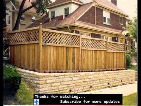 Bamboo Fencing Ideas Fences Design For Outdoor Garden YouTube