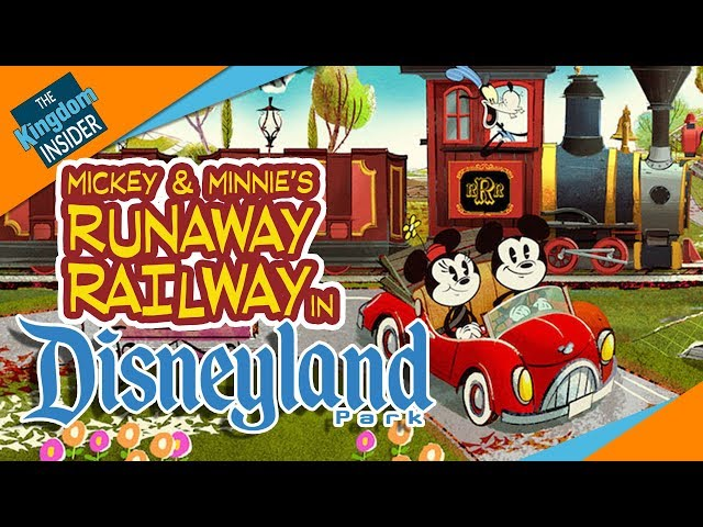 Mickey & Minnie's Runaway Railway Ride Coming to Disneyland, Too?!