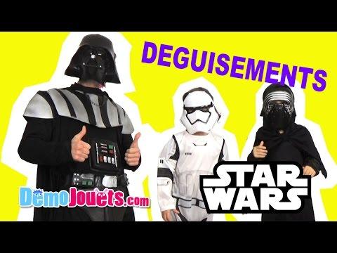 DÉGUISEMENTS STAR WARS Dark Vador Kylo Ren Stormtrooper Rubies - Démo Jouets