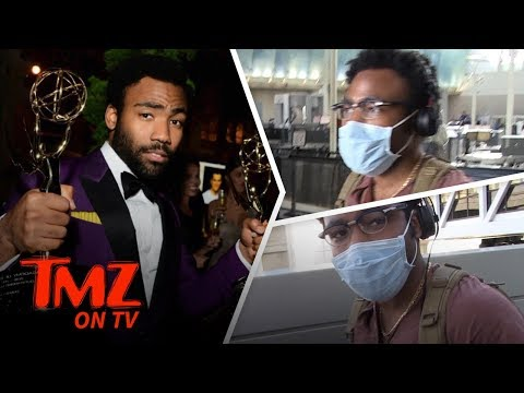 Donald Glover Is Coming For You, Jamie Foxx!  TMZ TV