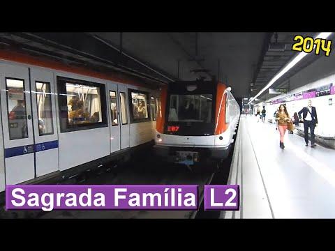 Metro de Barcelona: Sagrada Família L2 (TMB 9000)
