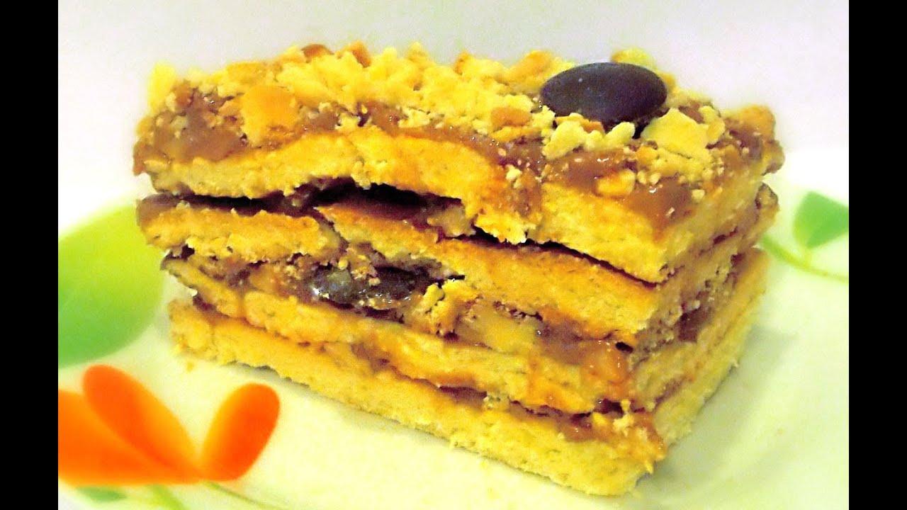 Видео рецепт торт ореховый