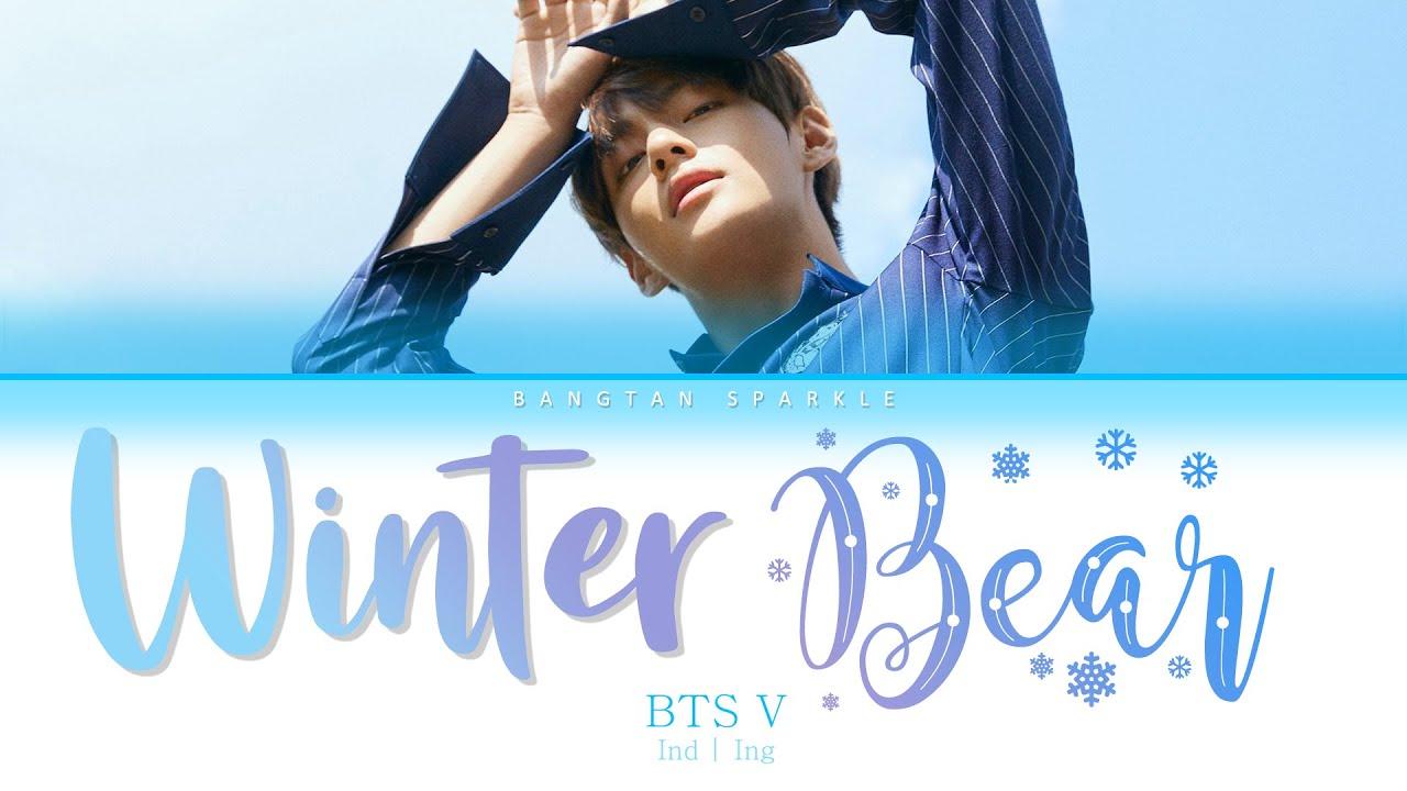 BTS V ( 김태형 ) - Winter Bear ( IND ING ) Indo Sub   Color Coded Lyrics