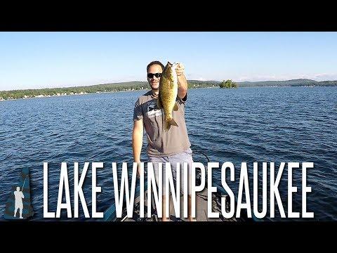 Big Smallmouth On Lake Winnipesaukee