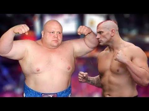 Обидел толстого но не знал что он боец!