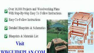 Wood Gun Rack Plans PDF