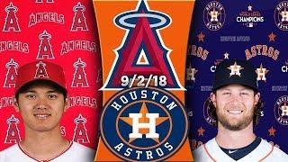 Los Angeles Angels vs Houston Astros