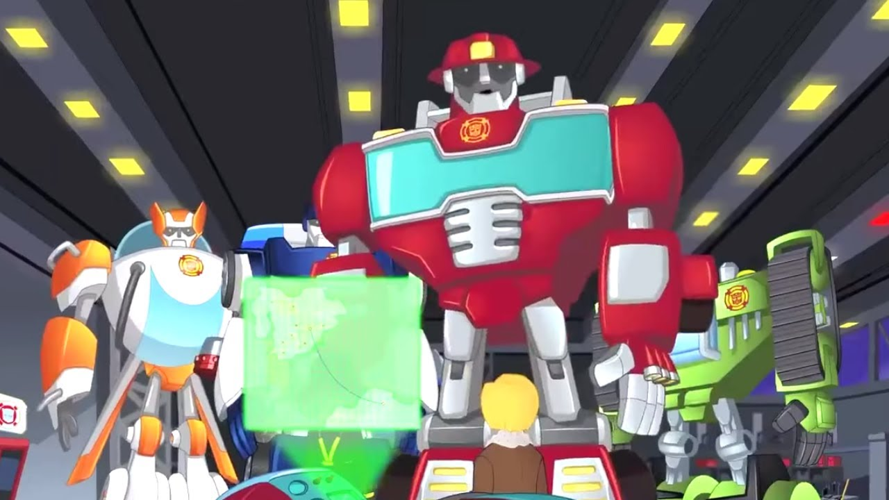 The Griffin Rock Express ⚡️ Transformers Rescue Bots | Full Episodes | Transformers Kids