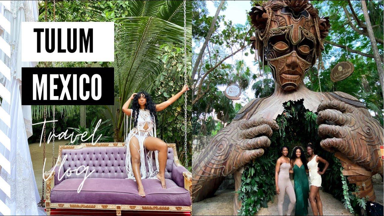 TULUM, MEXICO | Casa Malca + Sanah Villa | No quarantine travel vlog