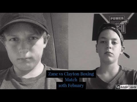 Zane Cook Vs Clayton Wise Boxing Match Confirmed-Rules Confirmed