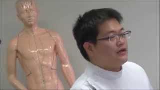 学校説明会鍼灸師科体験授業