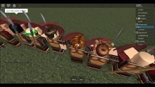 ROBLOX SPARTAN RAID!