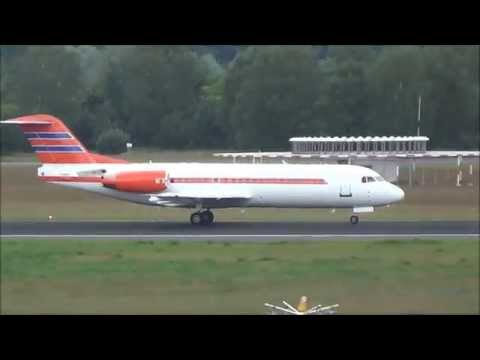 Dutch Government | Fokker-70 [PH-KBX] | nice takeoff @ Berlin-Tegel Airport!