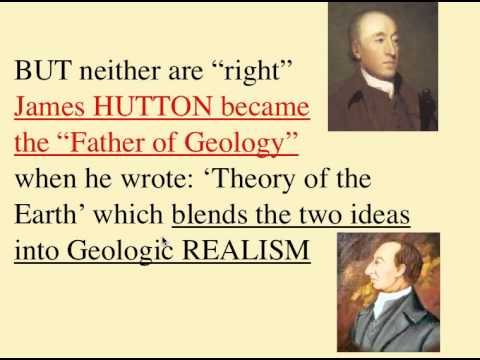Famous Geologists & ideas
