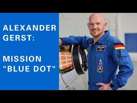 Alexander Gerst an der Universität Stuttgart