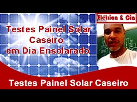 Painel Solar Caseiro