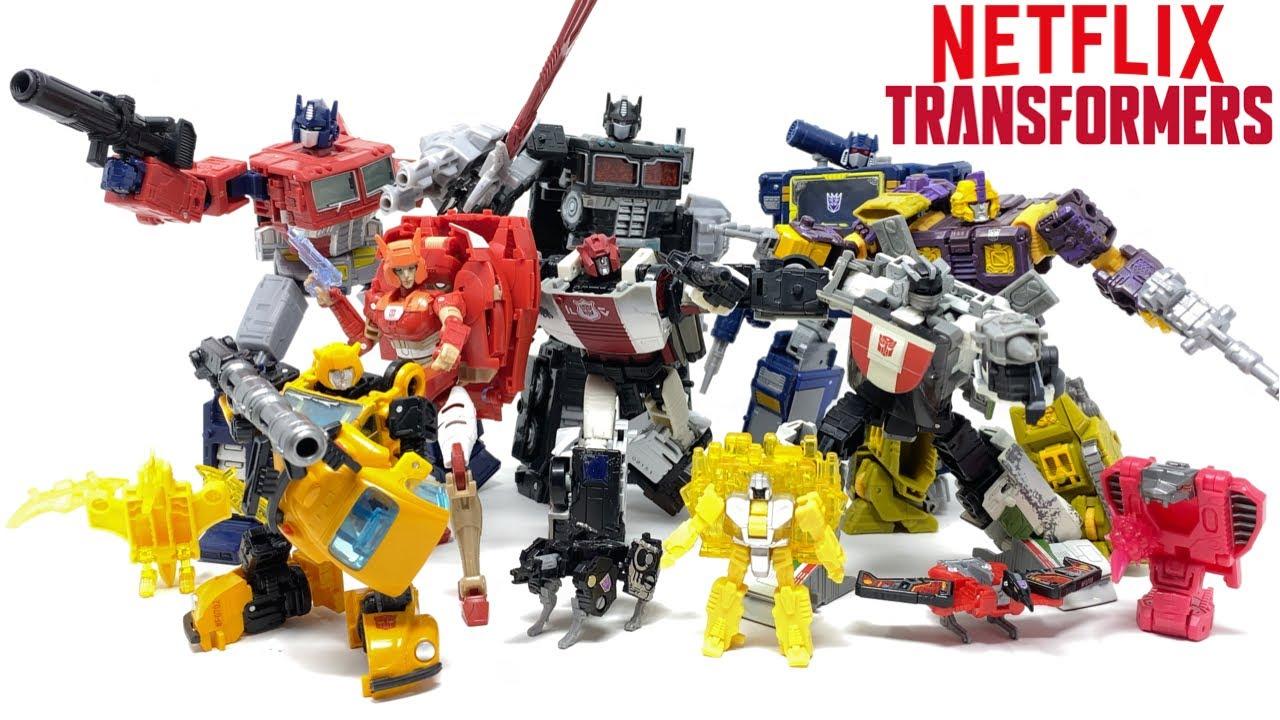 Netflix Transformers Wave 2 RANKING Video by PrimeVsPrime