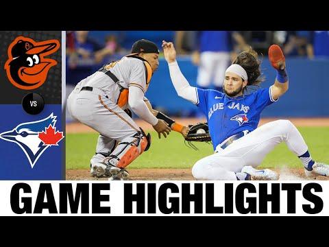 Download Orioles vs. Blue Jays Game Highlights (8/30/21) | MLB Highlights