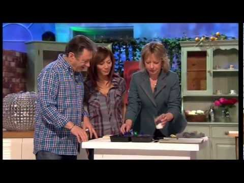 Alan Titchmarsh TV Show Using Wax Finish Varnish by Polyvine