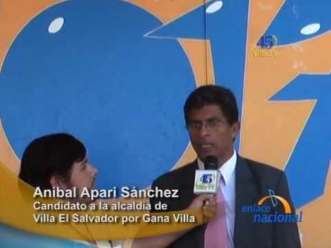 Lima: Esposo de Lori Berenson es candidato a la alcaldía de Villa El Salvador