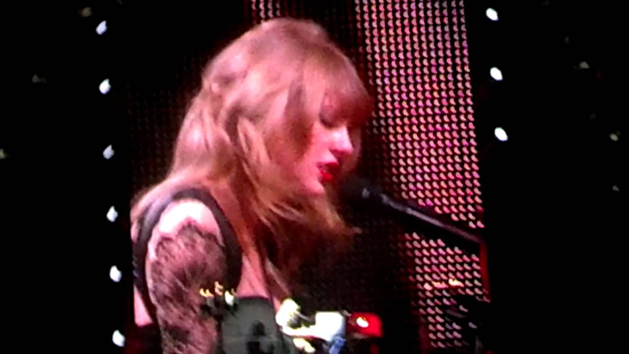 Taylor Swift At The Pepsi Center June 3 2013 Youtube