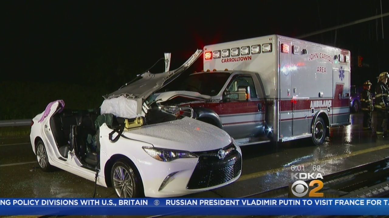 Ambulance Involved In Crash In Westmoreland County