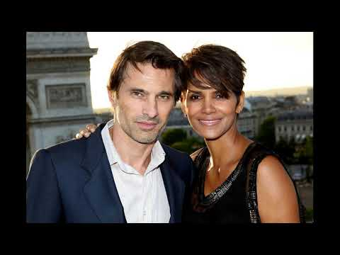 actress halle berry and her husband actor Olivier Martinez