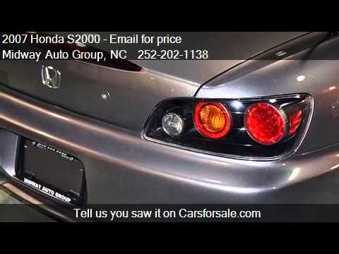 2007 Honda S2000  - for sale in Elizabeth City, NC 27909