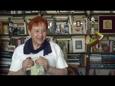 Literatūros pamoka su rašytoja Aldona Ruseckaite