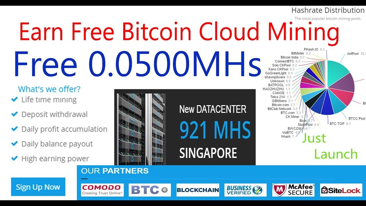 Bitcoin mining cloud free