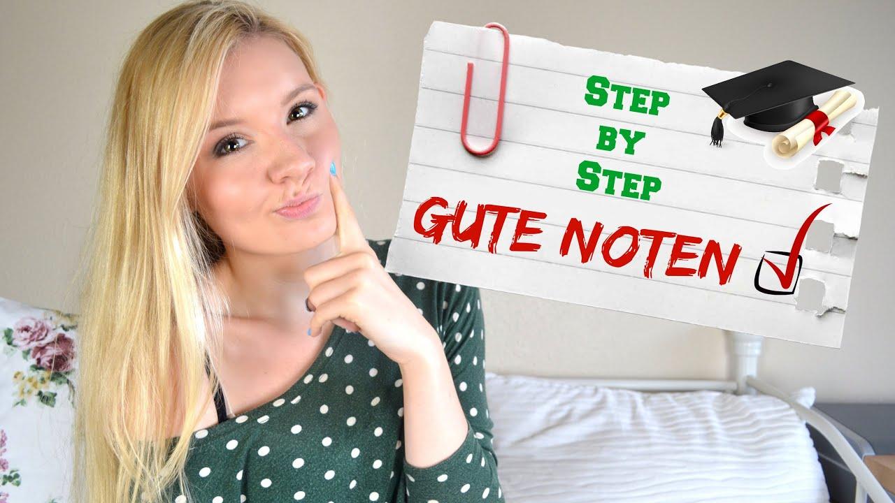 GUTE NOTEN SCHREIBEN - Step by Step #BACKTOSCHOOL - YouTube