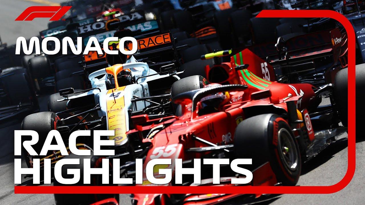 Race Highlights   2021 Monaco Grand Prix