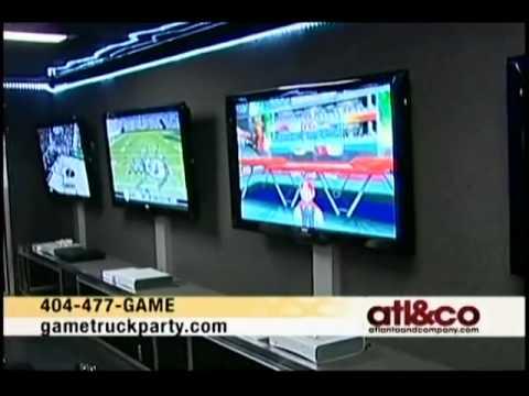 GameTruck Atlanta on NBC 11Alive's Atlanta and Company