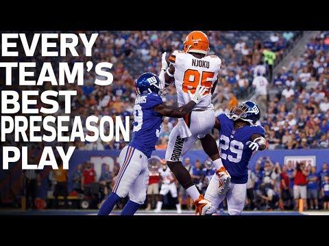 Every Teams Best Preseason Play | NFL